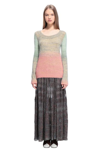 MISSONI Crew-neck Light yellow Woman - Back
