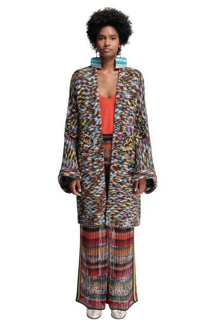 MISSONI Cardigan Blue Woman - Back