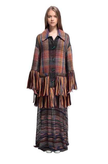 MISSONI Cardigan Ochre Woman - Back