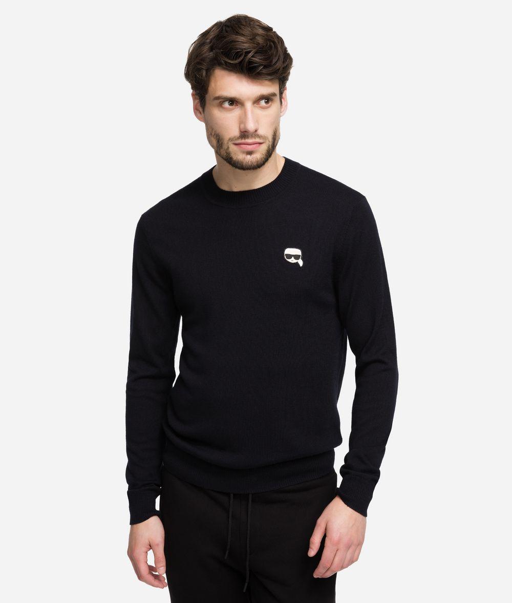 KARL LAGERFELD K/Ikonik Wool Sweater Sweater Man f
