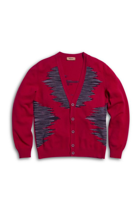 MISSONI Cardigan Red Man