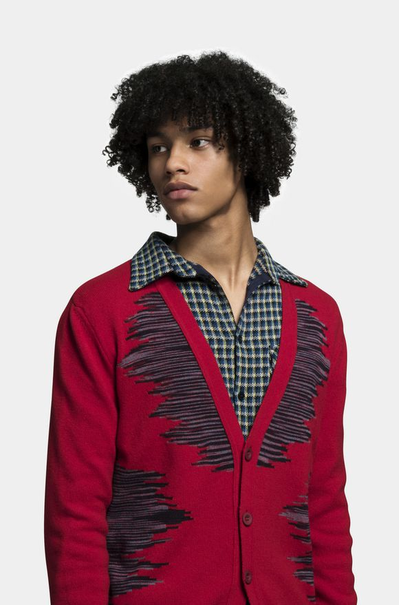 MISSONI Cardigan Man, Detail
