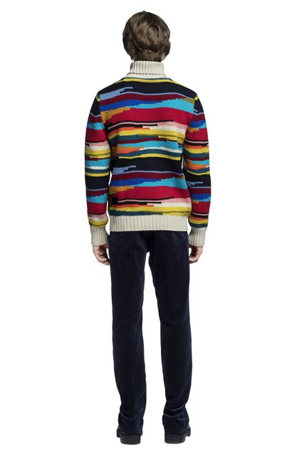 MISSONI Polo neck Beige Man - Front
