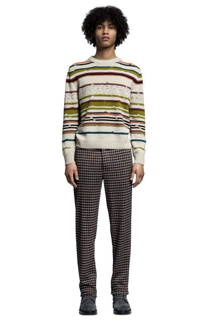 MISSONI Crew-neck Grey Man - Back
