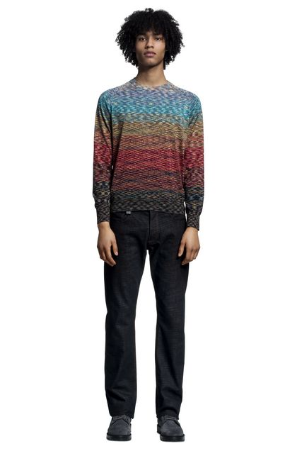 MISSONI Crew-neck  Man - Back