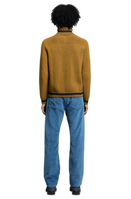 MISSONI Turtleneck Ochre Man - Front