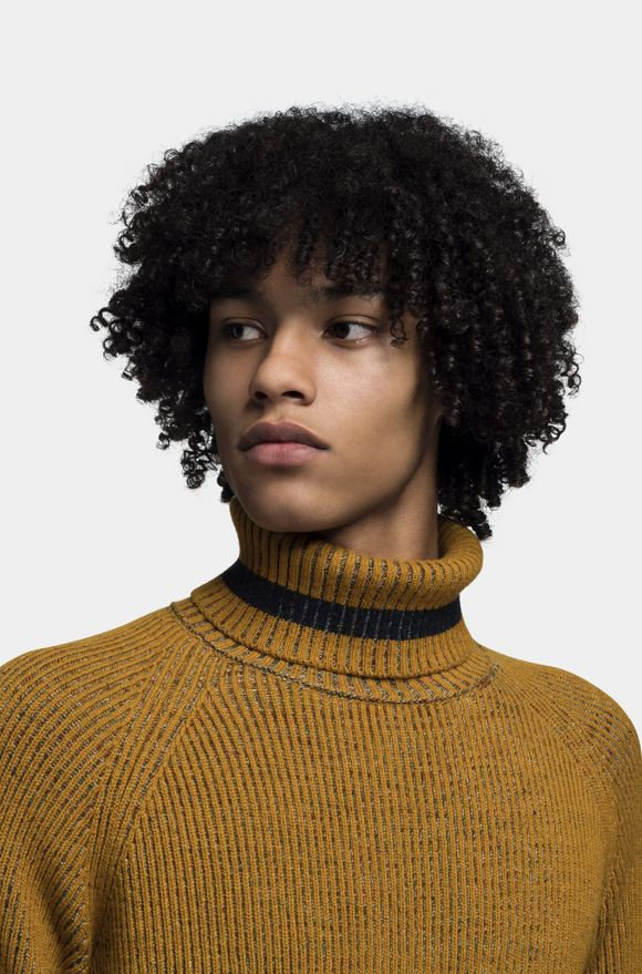 MISSONI Turtleneck Ochre Man
