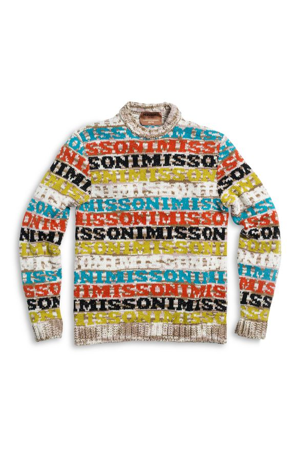 MISSONI Crew-neck Camel Man