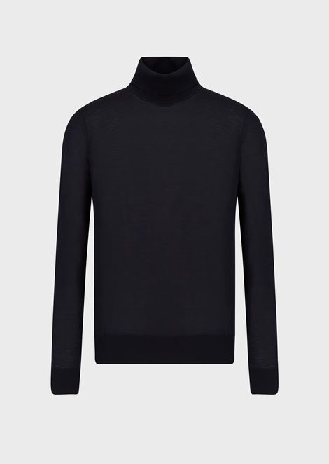 Pure virgin wool turtleneck