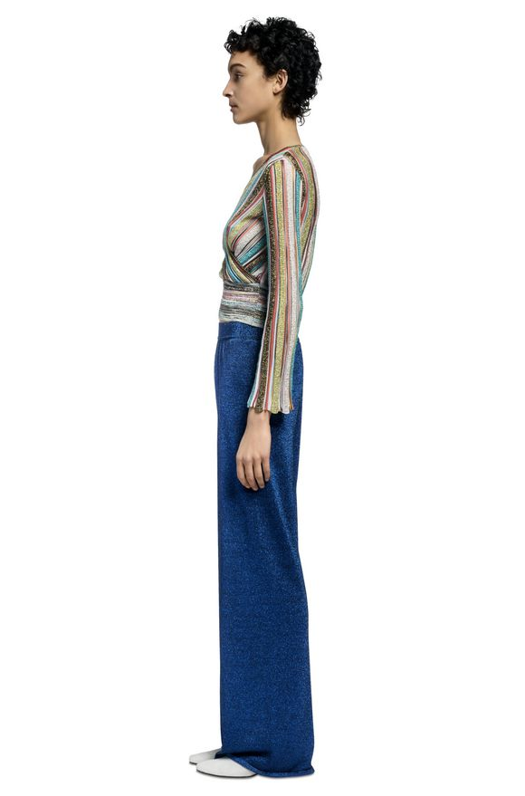 MISSONI V-Neck Woman, Side view
