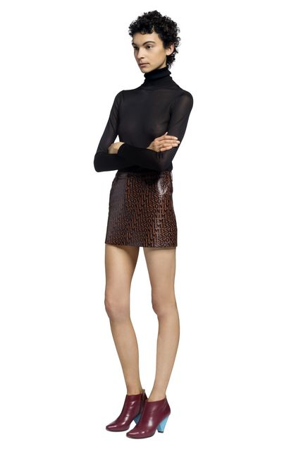 MISSONI Polo neck Black Woman - Back