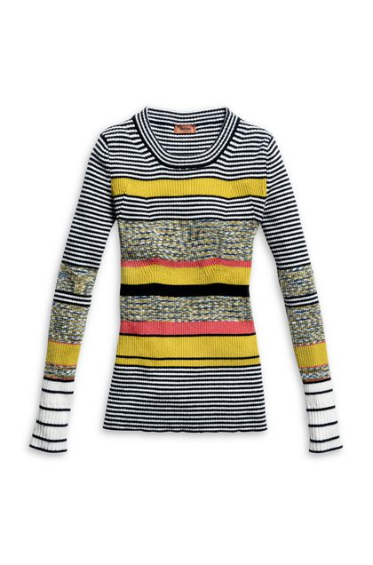 MISSONI Jumper Ochre Woman - Back
