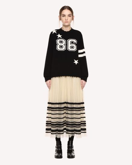 REDValentino Knit Sweater Woman QR0KC1E8459 0NO f