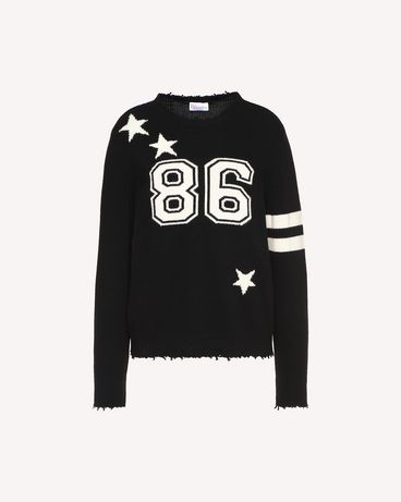 REDValentino QR0KC1E8459 0NO Knit Sweater Woman a