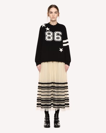 REDValentino QR0KC1E8459 0NO Knit Sweater Woman f