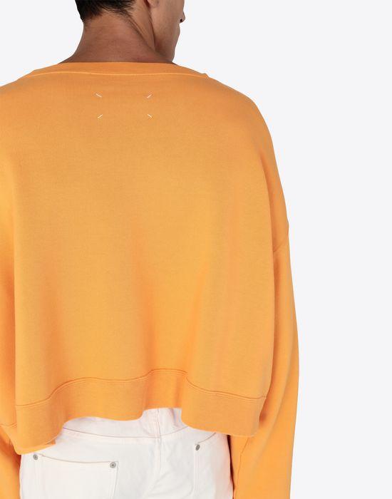 MAISON MARGIELA MM print jersey sweatshirt Sweatshirt [*** pickupInStoreShippingNotGuaranteed_info ***] b