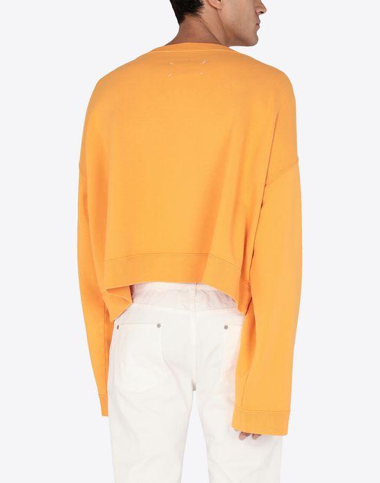 MAISON MARGIELA MM print jersey sweatshirt Sweatshirt [*** pickupInStoreShippingNotGuaranteed_info ***] e