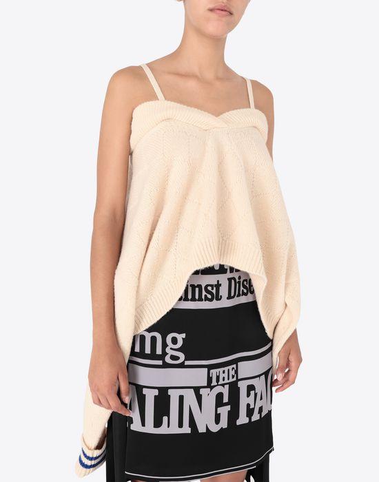 MAISON MARGIELA Cricket cropped top Long sleeve sweater [*** pickupInStoreShipping_info ***] a
