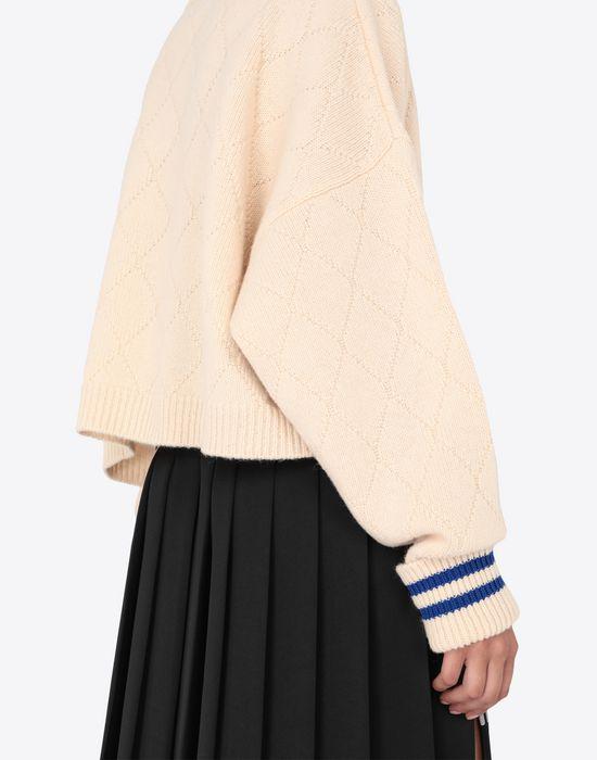 MAISON MARGIELA Cricket cropped top Long sleeve sweater [*** pickupInStoreShipping_info ***] b