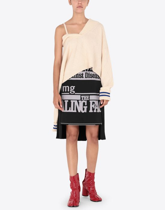 MAISON MARGIELA Cricket cropped top Long sleeve sweater [*** pickupInStoreShipping_info ***] d
