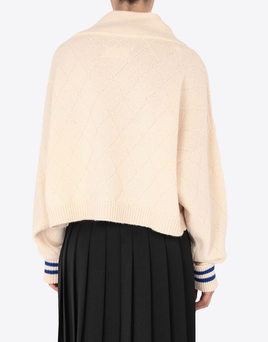 MAISON MARGIELA Cricket cropped top Long sleeve sweater [*** pickupInStoreShipping_info ***] e