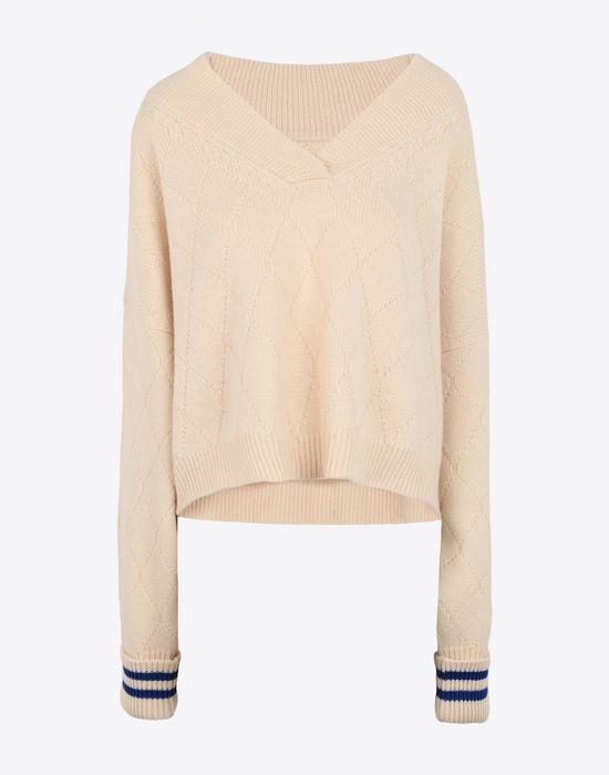 MAISON MARGIELA Cricket cropped top Long sleeve sweater [*** pickupInStoreShipping_info ***] f