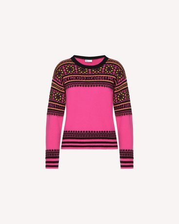 REDValentino QR0KC08Z467 FA9 Knit Sweater Woman a