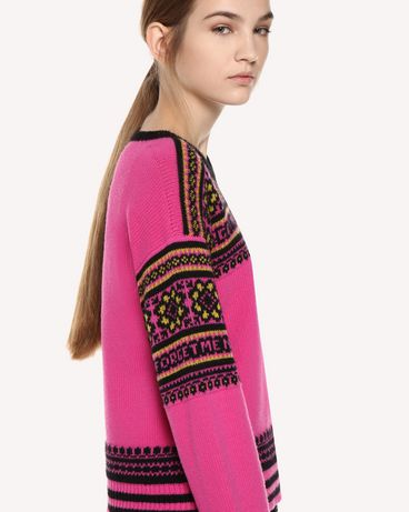 REDValentino QR0KC08Z467 FA9 Knit Sweater Woman e