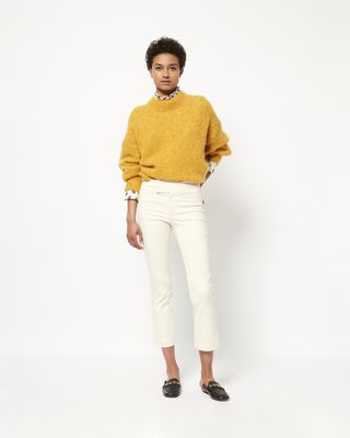 IDOL long mohair jumper