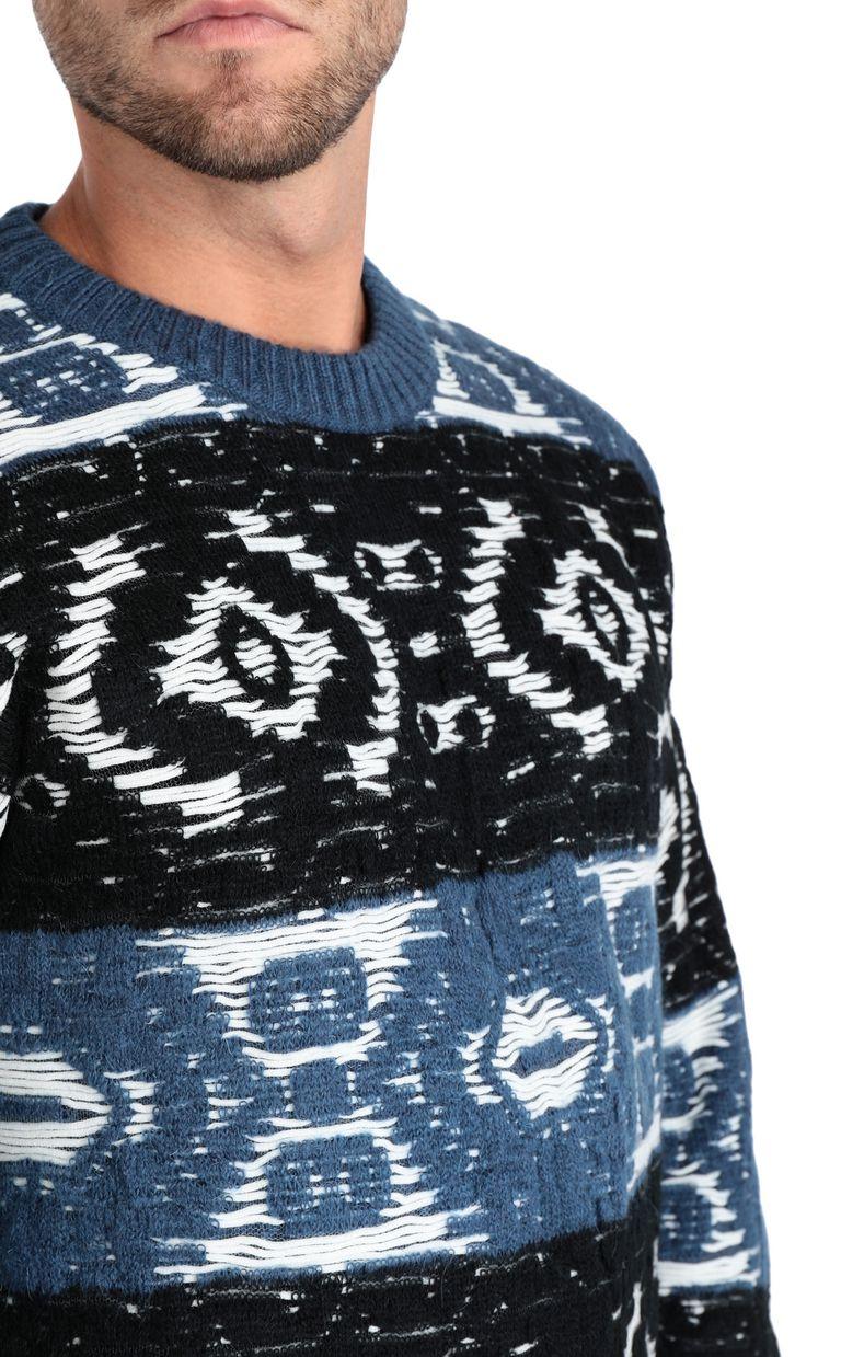 JUST CAVALLI Jacquard carpet pullover Sweater Man e