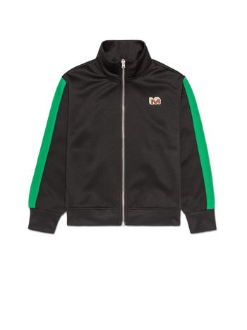 Marni FELPA FULL ZIP IN TRIACETATO CON PATCH Uomo