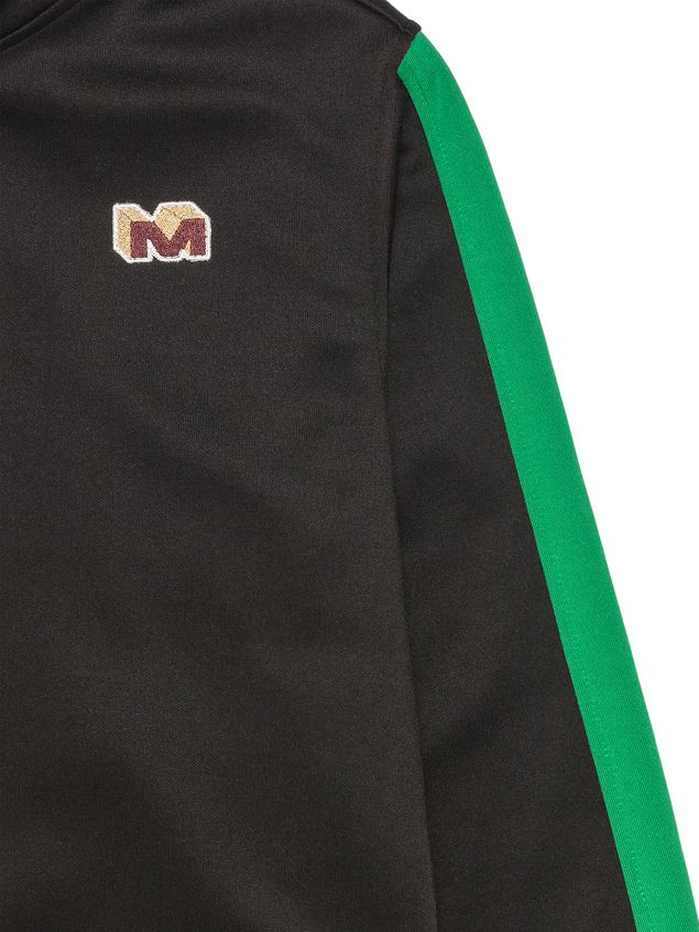 Marni TRIACETATE PATCHWORK FULL-ZIP SWEATSHIRT Man - 4