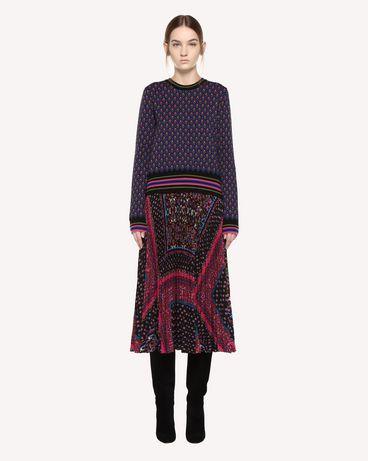 REDValentino QR0KC09I46G 0NO Knit Sweater Woman f