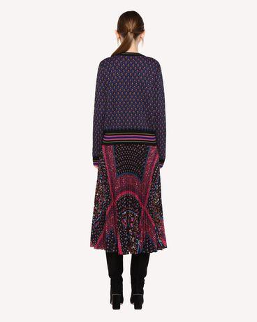 REDValentino QR0KC09I46G 0NO Knit Sweater Woman r