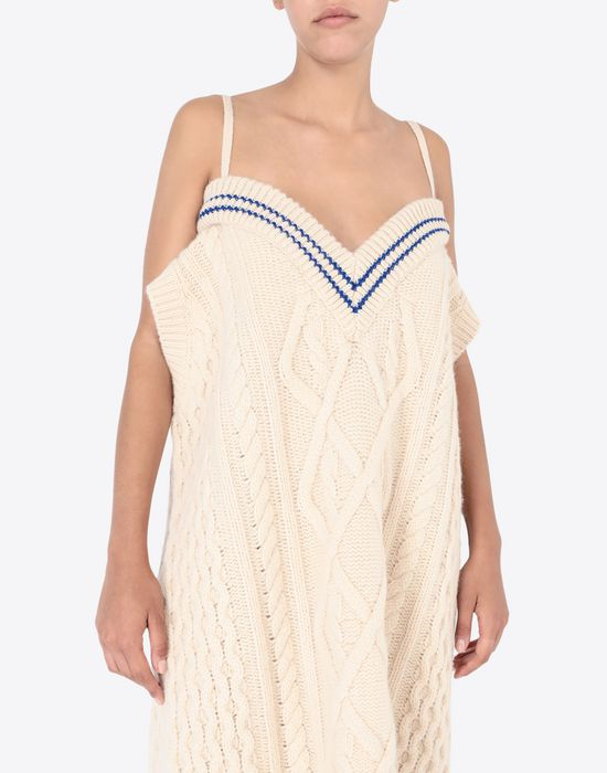 MAISON MARGIELA Oversized cricket sweater V-neck [*** pickupInStoreShipping_info ***] b