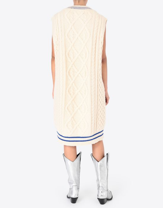 MAISON MARGIELA Oversized cricket sweater V-neck [*** pickupInStoreShipping_info ***] e