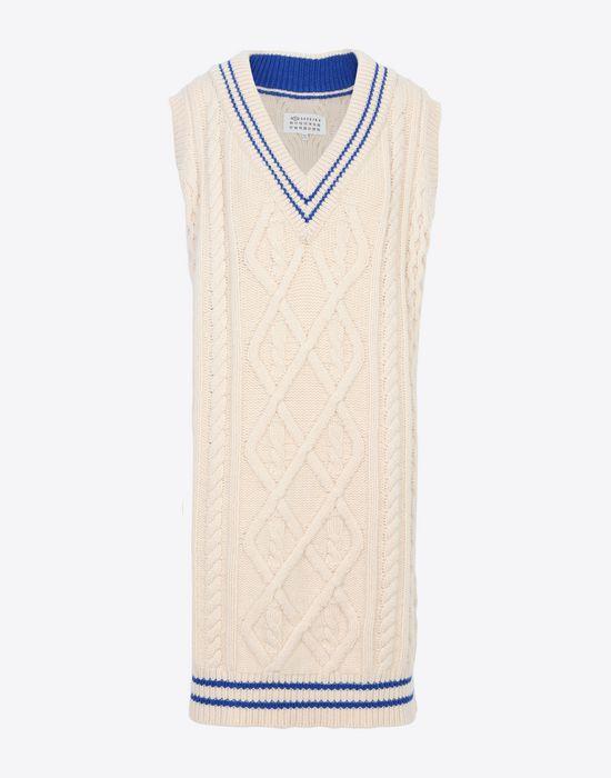 MAISON MARGIELA Oversized cricket sweater V-neck [*** pickupInStoreShipping_info ***] f