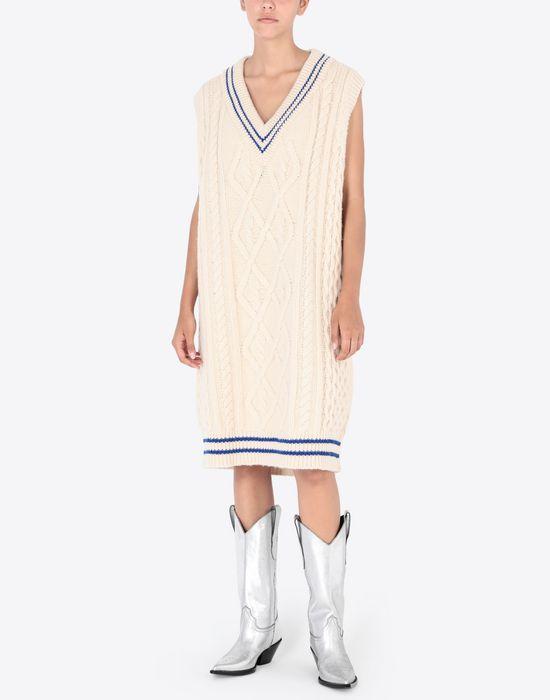 MAISON MARGIELA Oversized cricket sweater V-neck [*** pickupInStoreShipping_info ***] r