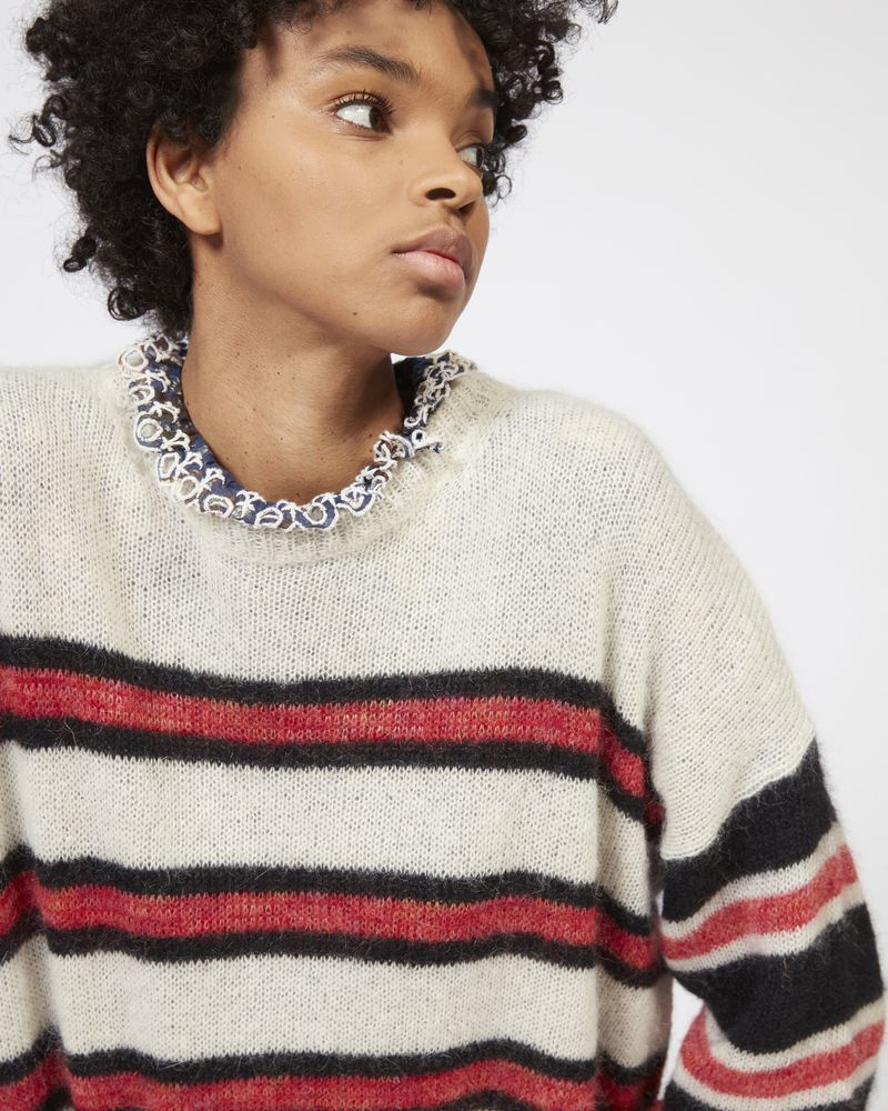 RUSSELL striped mohair jumper ISABEL MARANT ÉTOILE