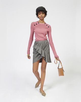 KOYLE buttoned knit sweater