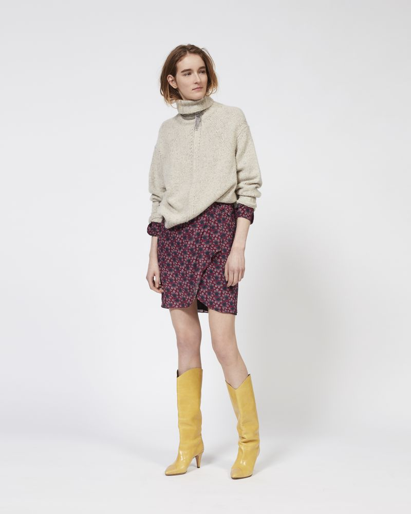 HARRIETT roll neck cashmere jumper ISABEL MARANT