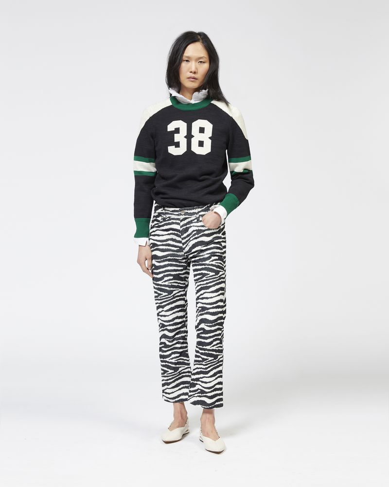 KINGSTON knit baseball jumper ISABEL MARANT ÉTOILE