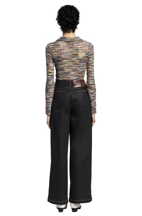 MISSONI Long-sleeved polo shirt Woman, Detail