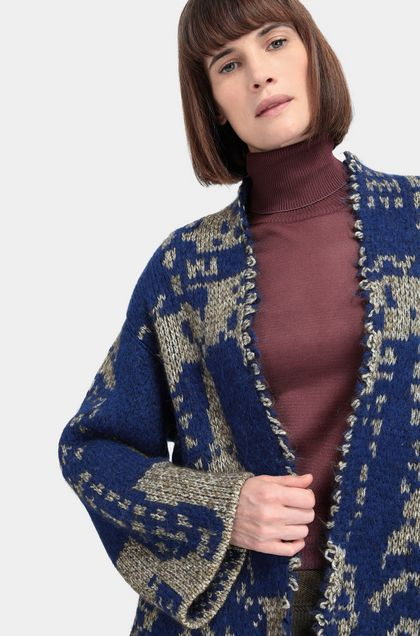 MISSONI Cardigan Bright blue Woman - Front