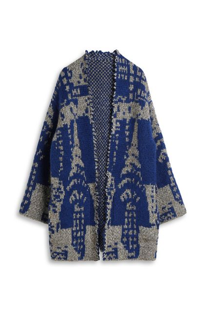 MISSONI Cardigan Bright blue Woman - Back