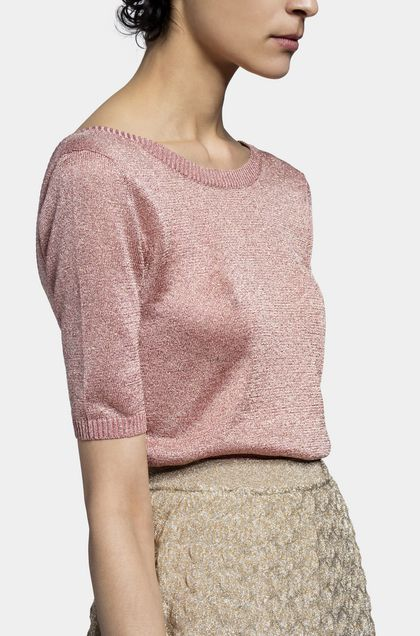 MISSONI Sweater Pastel pink Woman - Front