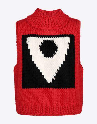 MAISON MARGIELA Sweatshirt [*** pickupInStoreShippingNotGuaranteed_info ***] A/W18-19 Défilé symbol sleeveless pullover f
