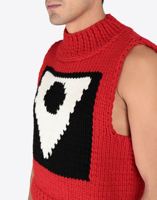 MAISON MARGIELA A/W18-19 Défilé symbol sleeveless pullover Sweatshirt [*** pickupInStoreShippingNotGuaranteed_info ***] a