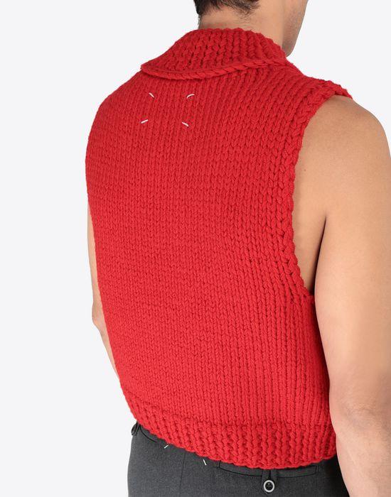 MAISON MARGIELA A/W18-19 Défilé symbol sleeveless pullover Sweatshirt [*** pickupInStoreShippingNotGuaranteed_info ***] b