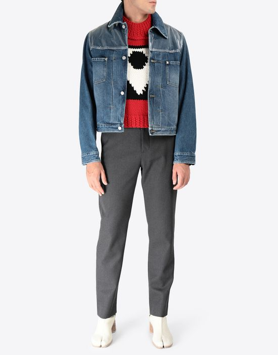 MAISON MARGIELA A/W18-19 Défilé symbol sleeveless pullover Sweatshirt [*** pickupInStoreShippingNotGuaranteed_info ***] d